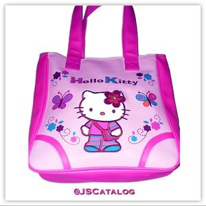 🌸Hello Kitty PVC Embroidered Pink Bag